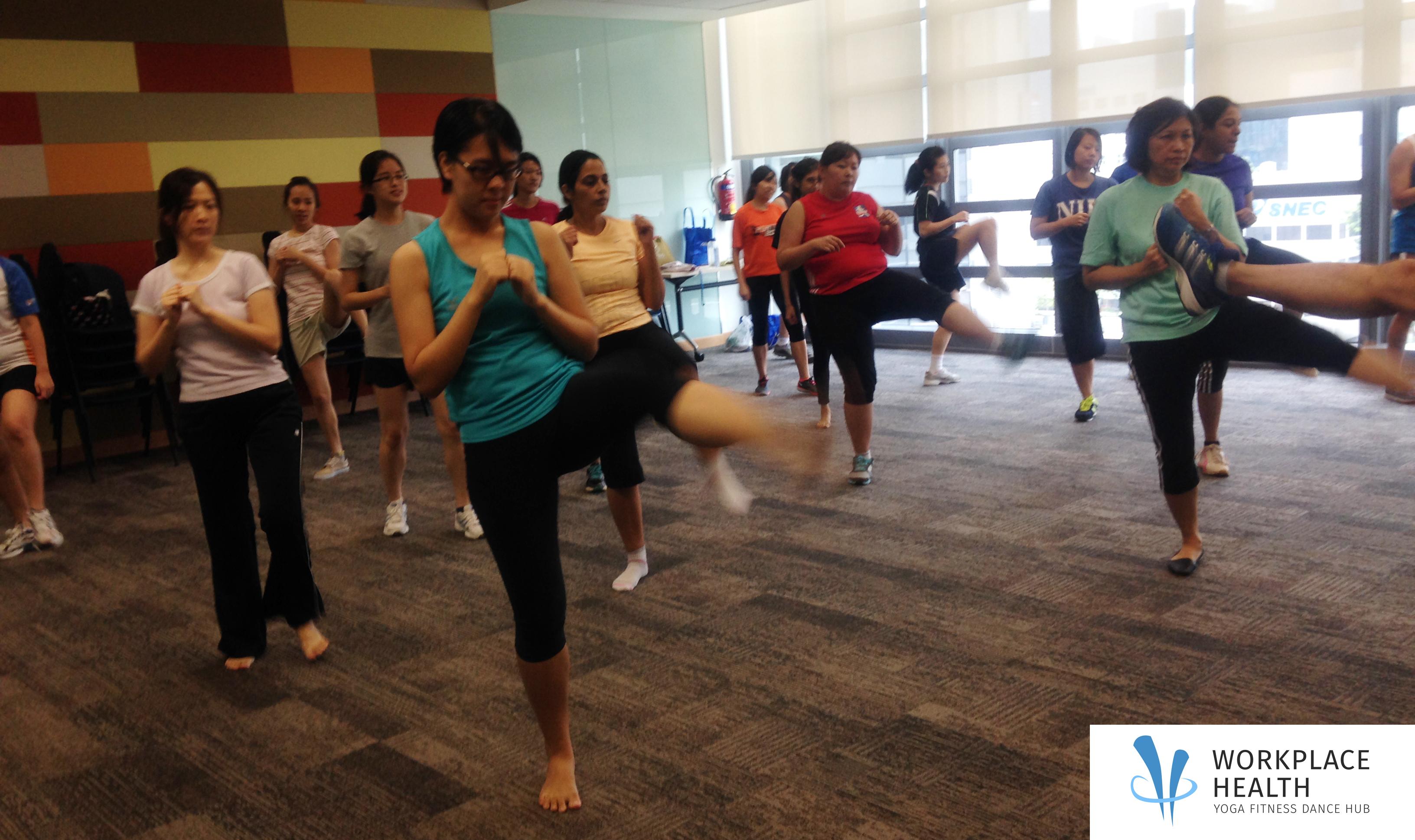 Best corporate yoga instructor Singapore