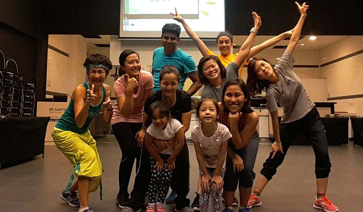 Best Zumba Instructor in Singapore